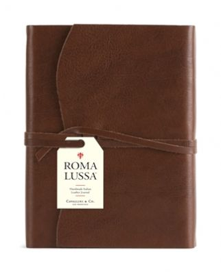 Chocolate Roma Lussa Journal | Beautiful Notebooks